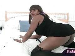 Black TS Foxy London Invites You For Some Fun 1