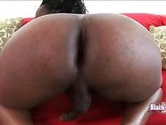 Black TS Hershey Pleasures Herself 1
